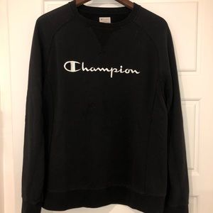 COPY - Black Champion crewneck